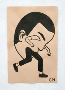 Paper Paintings - Geoff Mcfetridge